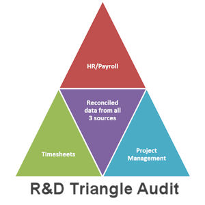 R and D triangle audit